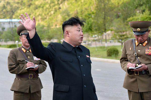 Kim Dzong Un, przywódca Korei Płn.