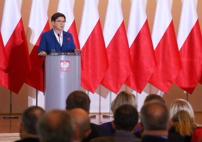 """Jasna deklaracja Beaty Szydło. """"Nie ma mowy o Polexicie"""""""