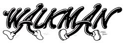 Pierwsze logo Walkman.