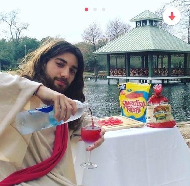 """""""Jezus z Tindera"""" hitem internetu"""