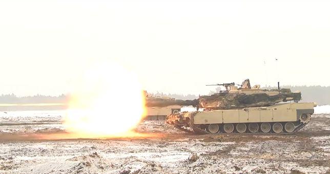 Strzelanie M1A2 Abrams w Polsce