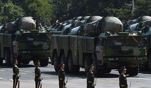 Chińska armia pokazała wideo z pociskami DF-16
