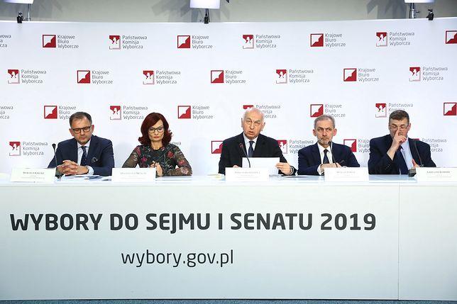 Oficjalne wyniki wyborów parlamentarnych 2019. PKW podało dane ze 100 proc. komisji
