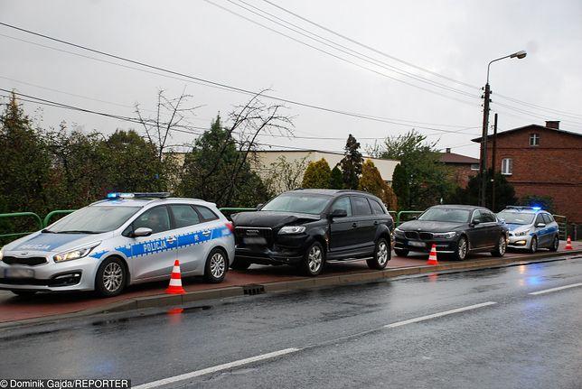 Marcin W. w 2018 r. rozbił rządowe audi w Imielinie w Śląskiem