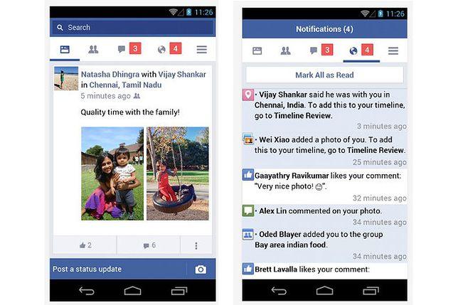 Facebook doczekał się lżejszej i szybszej wersji na Androida