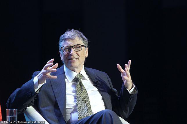 Bill Gates, miliarder, współtwórca Microsoft