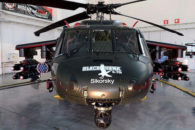 W pełni uzbrojony Black Hawk S70i