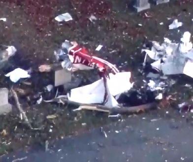 Katastrofa samolotu w USA. Maszyna rozbiła się na cmentarzu