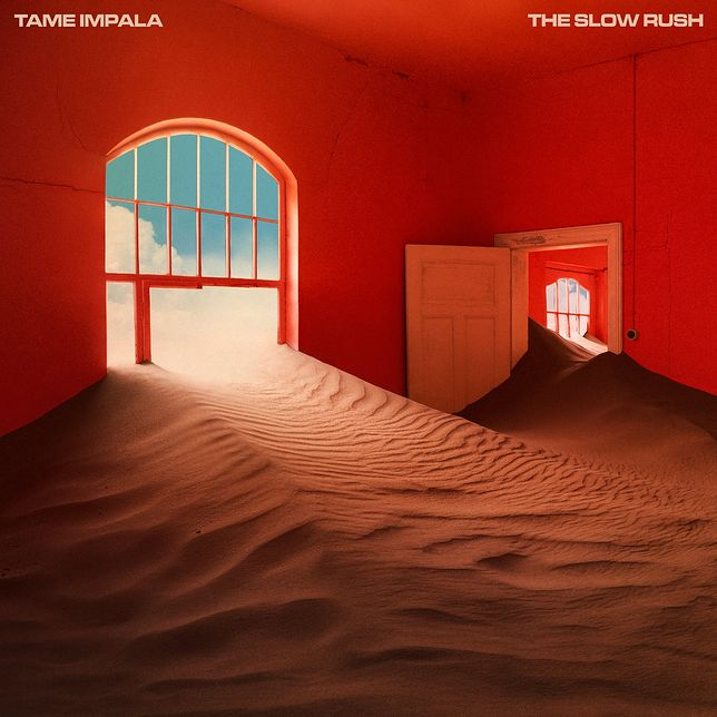 Tame Impala - The Slow Rush (okładka albumu)