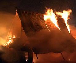 Największy pożar od lat. Policja zatrzymała podpalacza
