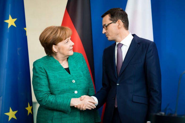 Kanclerz Merkel odmówiła spotkania z premierem Morawieckim, nawet wirtualnego