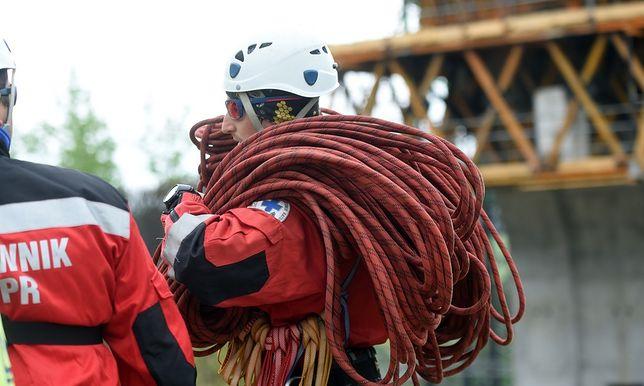 Do akcji ratowniczej wysłano ratowników z Ustrzyk Górnych, Cisnej i Sanoka