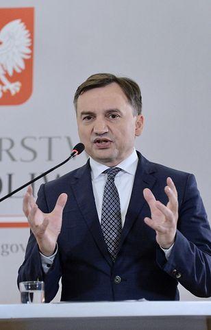 Zbigniew Ziobro zabrał głos na konferencji prasowej