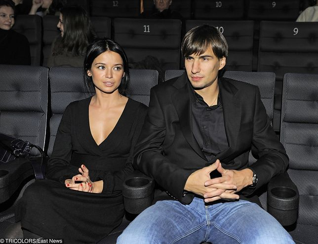 Anna Przybylska i Jarosław Bieniuk tworzyli zgodną parę