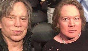 Rourke ma 66, a Rose 56 lat