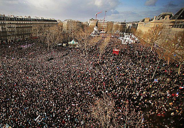 4 miliony ludzi na ulicach w proteście - zdjęcia