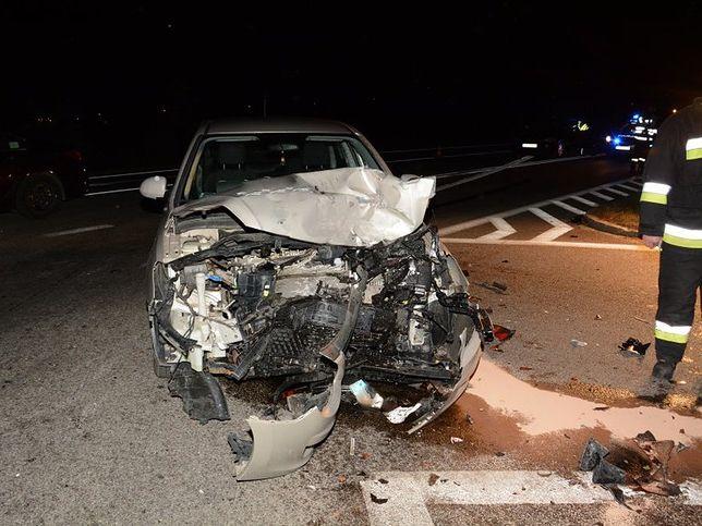 Podkarpackie: śmiertelny wypadek. Motocyklista zderzył się z samochodem