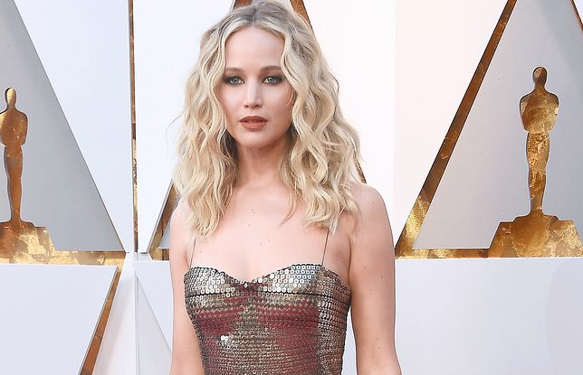 Jennifer Lawrence na Oscarach 2018