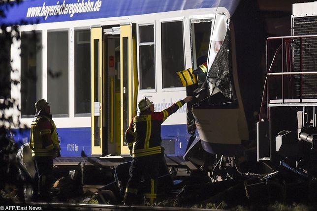 Zderzenie pociągów w Niemczech. Są zabici i ranni