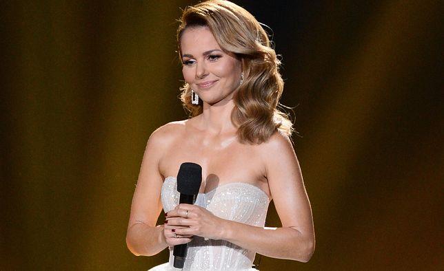 Paulina Sykut-Jeżyna prowadziła galę Miss Polski 2019