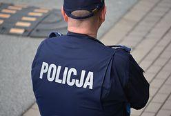 Atak nożownika na policjanta w Łodzi. 16-latek dźgnął go w szyję