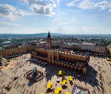 Stare Miasto w Krakowie to jeden z pierwszych obiektów wpisanych na listę światowego dziedzictwa UNESCO