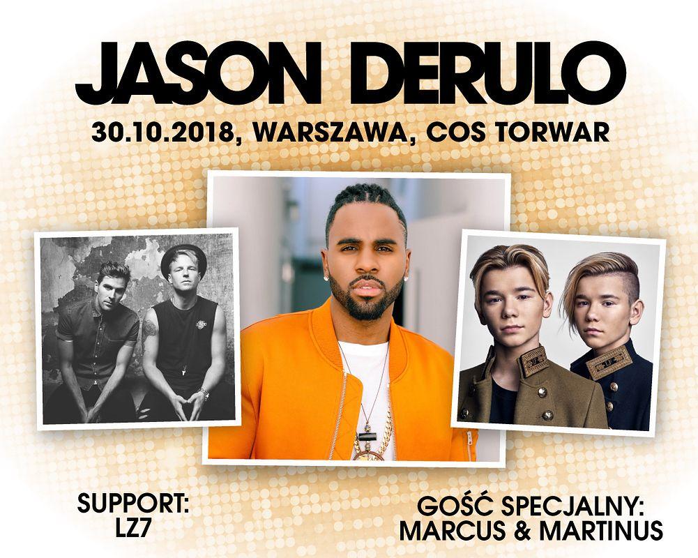 Marcus i Martinus gośćmi specjalnymi Jasona Derulo na koncercie w Polsce!