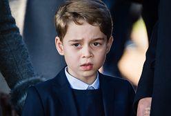 Książę George szkoli się u królowej. Wie, że przed nim wielka rola