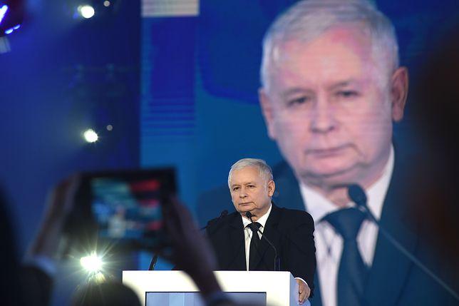 Prezes PiS Jarosław Kaczyński - według sondażu dla WP władca absolutny