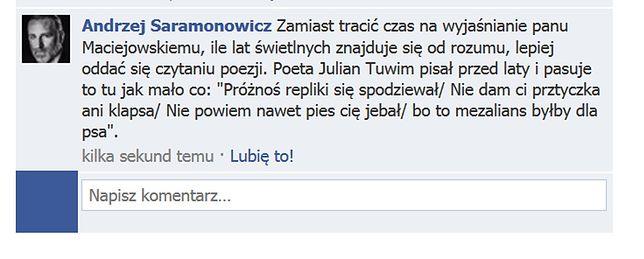 Warszawski radny: Gdyby Putin nie zamordował Kaczyńskiego...