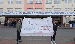 Koronawirus w Polsce. Szpital w Łomży został przekształcony w szpital zakaźny