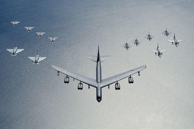 Pentagon wysłał do Europy sześć bombowców strategicznych B-52