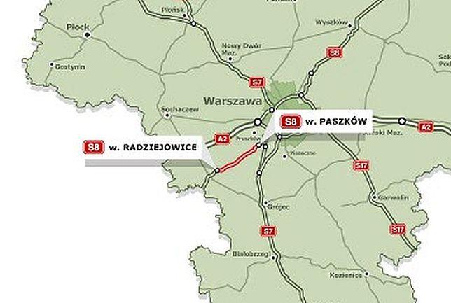 Podpisano kontrakt na nowy odcinek wylotówki z Warszawy
