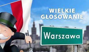 Warszawa w grze Monopoly? Rusza głosowanie!