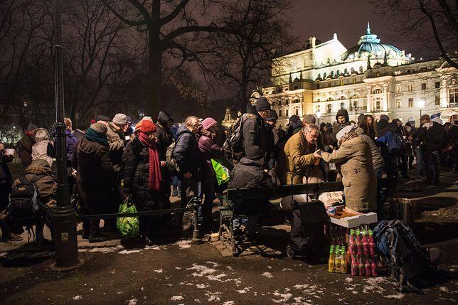 Kraków: radny Łukasz Wantuch chce się pozbyć bezdomnych z Plant