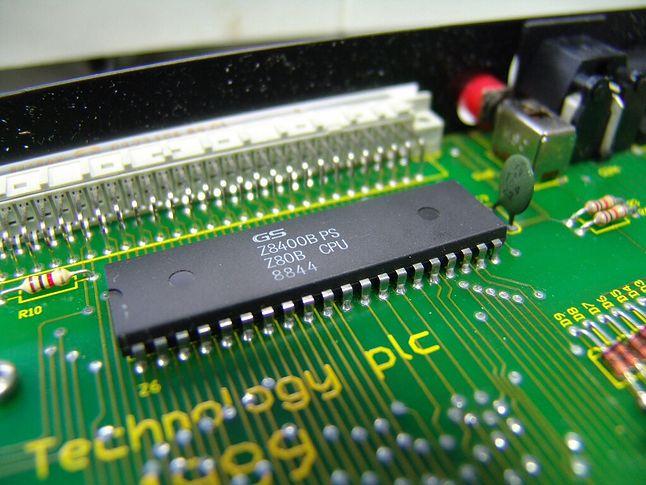 Z80B produkowany przez firmę GoldStar