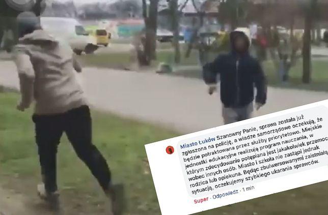 Rasistowski atak w Łukowie. Młodzi chuligani obrzucili Wietnamkę patykami