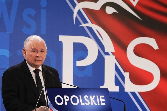 Jarosław Kaczyński w Opolu: mamy 21 trudnych miesięcy walki o to, by dobra zmiana trwała
