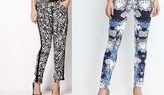 Wzorzyste spodnie - 30 propozycji na jesień