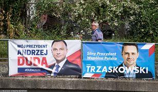 Wybory 2020. Plakaty wyborcze Andrzeja Dudy i Rafała Trzaskowskiego na pewno się udały