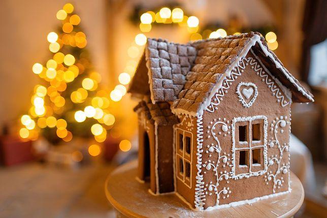 Słodki symbol Bożego Narodzenia