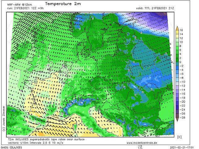 Pogoda. Nadchodząca noc przyniesie w większości regionów dodatnią temperaturę