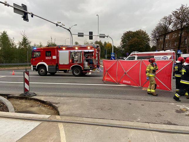 Katowice. Śmiertelny wypadek z udziałem rowerzysty