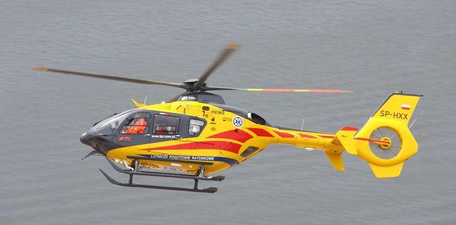 Śmigłowiec Lotniczego Pogotowia Ratunkowego (źródło: Wikipedia)