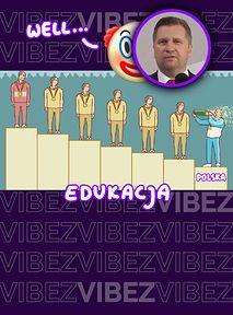 Według Czarnka Polska ma najlepszy system edukacji w Europie. NO NIEKONIECZNIE XD