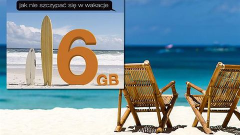 Powraca letnia promocja 6 GB za 6 zł w Orange