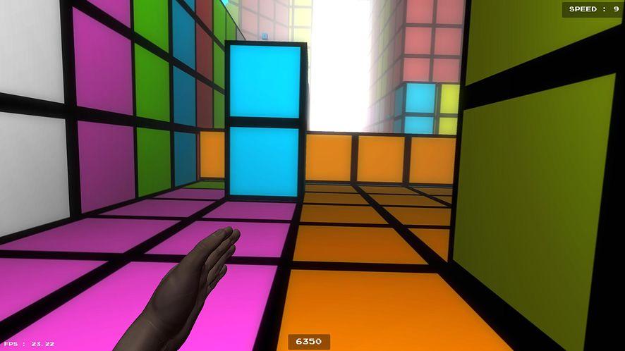 Tetris Runner na weekend: ucieczka z labiryntu z Pacmanem za plecami
