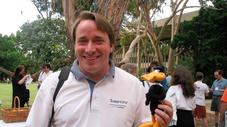 Nic nie obchodzisz Linusa Torvaldsa, on dba tylko o technikę i linuksowy kernel
