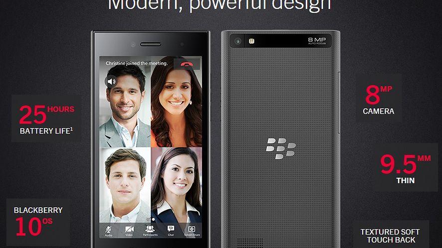 [MWC 2015] BlackBerry zamierza walczyć atrakcyjnym cenowo modelem Leap