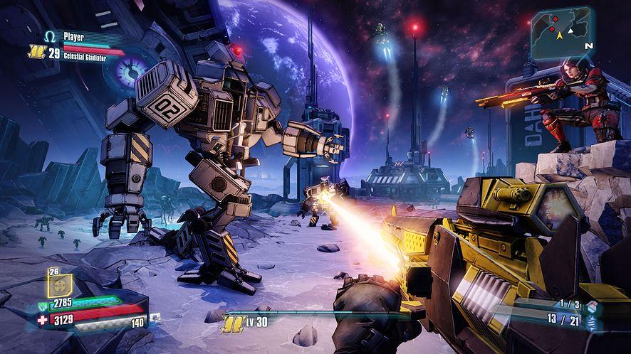 Borderlands: The Pre-Sequel tej jesieni na Xboksa 360, PS3 i PC